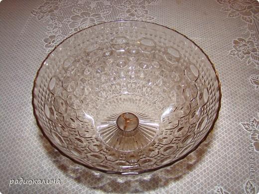 Сотворилась у меня вот такая чаша с драгоценными камнями :вся такая медная и яркая. фото 5
