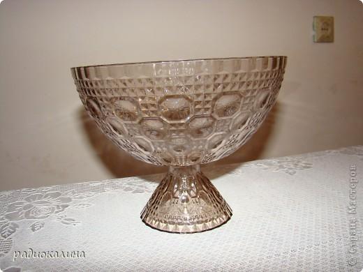 Сотворилась у меня вот такая чаша с драгоценными камнями :вся такая медная и яркая. фото 4
