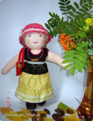 Вальдорфская кукла Леди Осень фото 4