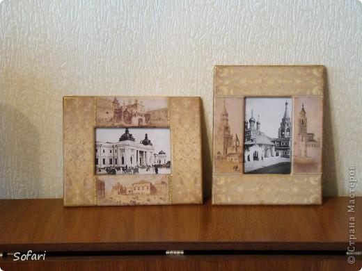 """Фоторамки """"Старая Москва"""" фото 1"""