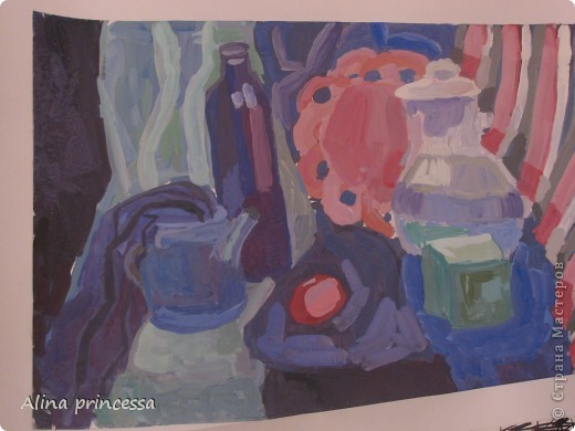 Я Учусь в 5 классе по ДХШ ( детская художественная школа)  первую ступень я уе закончила, осталось еще 3 года... вот некоторые мои работы фото 2