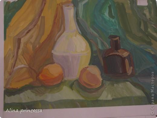 Я Учусь в 5 классе по ДХШ ( детская художественная школа)  первую ступень я уе закончила, осталось еще 3 года... вот некоторые мои работы фото 4