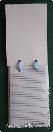 Привет! Захотелось мне сделать книгу для рецептов и вот такой получился блокнот! Мне очень нравится! А мишка специально с пирожными) Кулинарная тема) фото 4