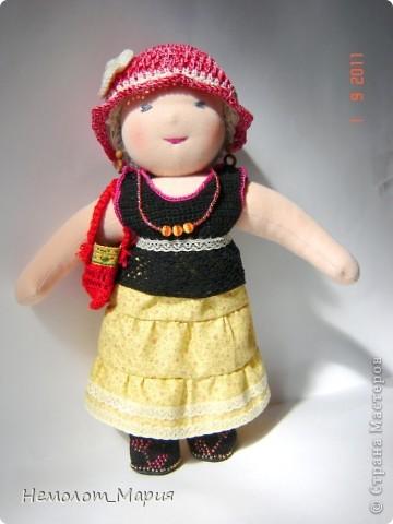 Вальдорфская кукла Леди Осень фото 3
