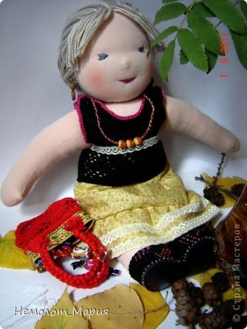 Вальдорфская кукла Леди Осень фото 2