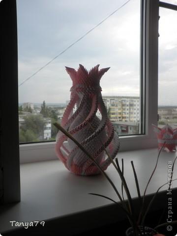Во время отпуска сделала вот такую вазу.  Поздравляем всех педагогов с началом учебного года. фото 6