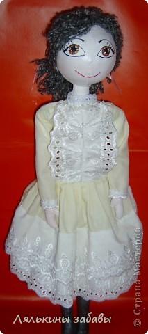 """Кукла в стиле """"бохо"""" фото 3"""