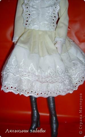 """Кукла в стиле """"бохо"""" фото 7"""