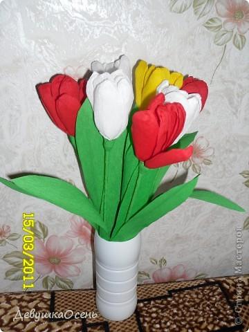 Цветы и панно из гофрированной бумаги