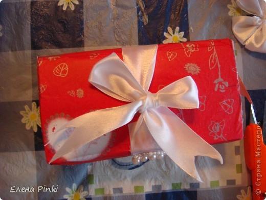 Сестра попросила сделать коробочку для денежного подарка....Знаю,что в СМ много очень МК всевозможных коробочек для денег.НО.....возможности добраться до интернета не было и вот что пришло на ум! Выкладываю процесс создания (буду рада если кому то пригодится) фото 5