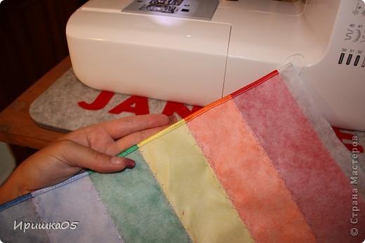 """Вот такие веселенькие подушечки у меня получилиь. Сшить их очень просто даже такому начинающему """"мастеру"""" как я :) фото 11"""