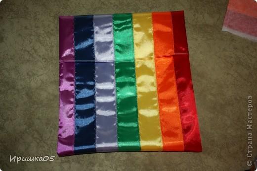 """Вот такие веселенькие подушечки у меня получилиь. Сшить их очень просто даже такому начинающему """"мастеру"""" как я :) фото 13"""