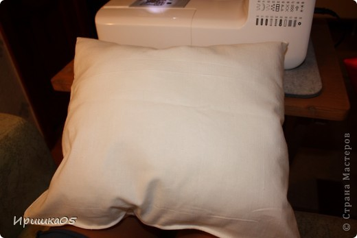 """Вот такие веселенькие подушечки у меня получилиь. Сшить их очень просто даже такому начинающему """"мастеру"""" как я :) фото 14"""