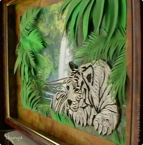 Здравствуйте! Очень давно мне не давал покоя леопард Saphir, так хотелось сделать что-то подобное. И вот... выставляю на суд жителей Страны своего тигра.  фото 3