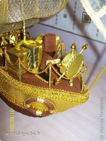 Такой подарок получит друг моего супруга на день рождения. Жена друга уже видела корабль, понравился. Буду ждать оценку именинника. фото 2