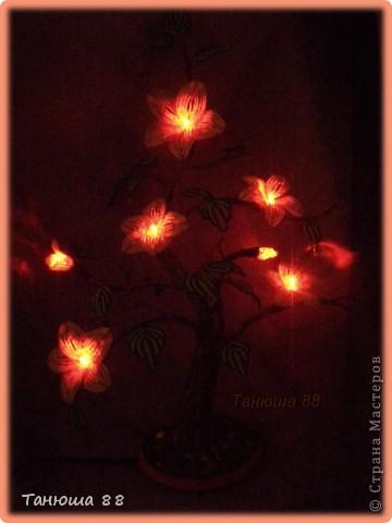 Бонсай- светильник-ночничок фото 6