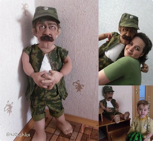 При создании клона, настоящий прапорщик не пострадал))))) фото 3