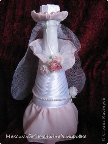 Скоро свадьба у друзей, и я решила их удивить!Сделала бутылочки по МК gud http://stranamasterov.ru/node/225893?c=favorite Спасибо ей за это огромное! фото 2