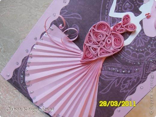 """Открытка и сумочка (её использовали вместо конвертика для """"денежного подарка"""") были сделаны на День рождения коллеги. Сумочку сделала по мастер-классу http://scrap-melody.blogspot.com/2010/06/blog-post_04.html ; идея открытки """"подсмотрена"""" у ya-yalo http://stranamasterov.ru/node/106446#photo2 , за что им огромное спасибо! фото 5"""