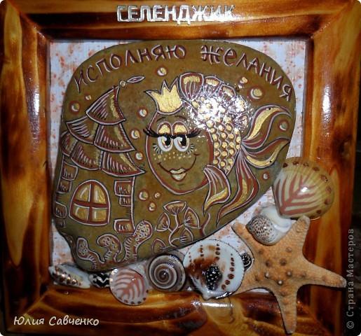 Всем здравствуйте и большой привет!Небольшое ассорти из морских камушков,это малюсенькая капелька из того что было нарисовано для любимых туристов нашего города!Приятно сознавать что все они разьехались по разным уголкам нашей страны.(Это я про камушки :)  ) фото 12