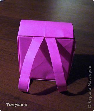 Оригами поделка портфель 41