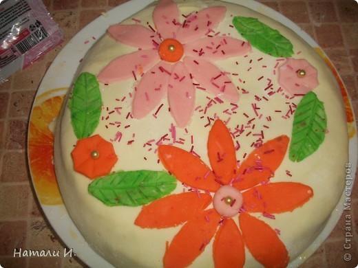 Торт для любимого мужа фото 1