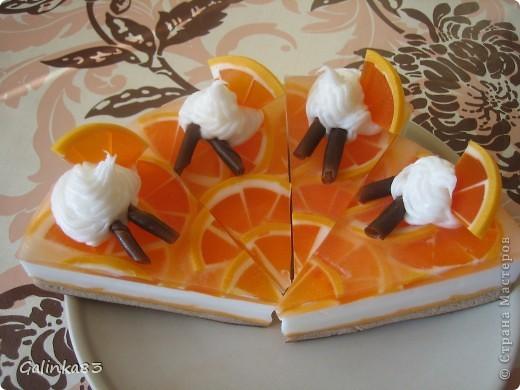 Одно из первых мыл))) (аромат шоколад+ваниль) фото 4