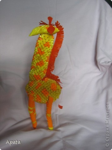Захотела сделать жирафа... фото 4