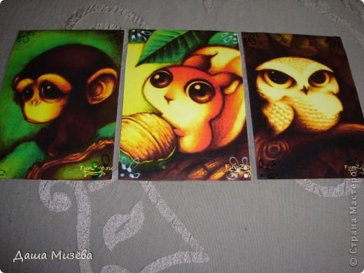 а вот все карточки под названием МИЛЫЕ ЗВЕРЮШКИ хочу чтобы выбрала ДЕСАД а кто захочет только на обмен  фото 3