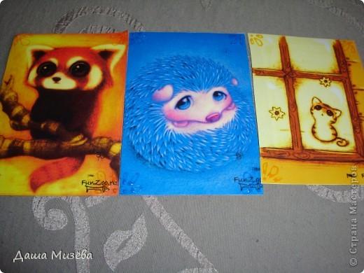 а вот все карточки под названием МИЛЫЕ ЗВЕРЮШКИ хочу чтобы выбрала ДЕСАД а кто захочет только на обмен  фото 4