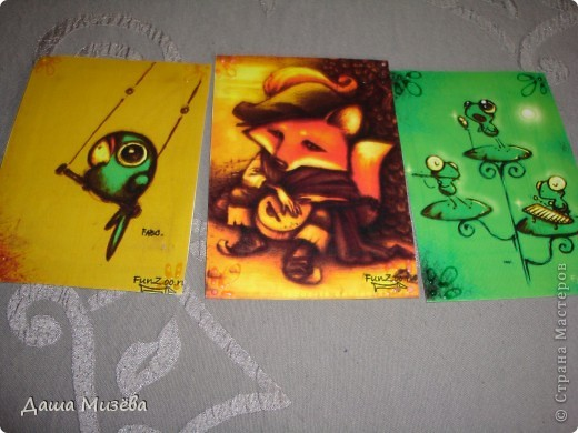 а вот все карточки под названием МИЛЫЕ ЗВЕРЮШКИ хочу чтобы выбрала ДЕСАД а кто захочет только на обмен  фото 5