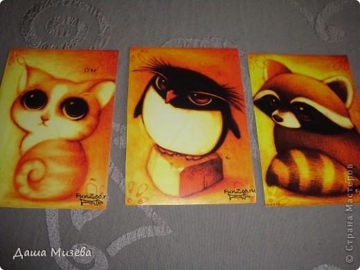 а вот все карточки под названием МИЛЫЕ ЗВЕРЮШКИ хочу чтобы выбрала ДЕСАД а кто захочет только на обмен  фото 6