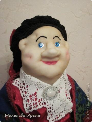 Купчиха-Домна Пантелеевна. Баба на чайник. фото 1