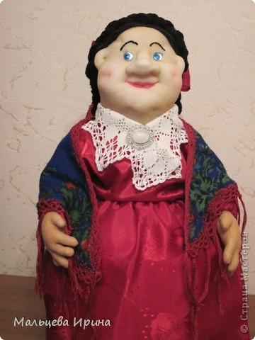 Купчиха-Домна Пантелеевна. Баба на чайник. фото 2