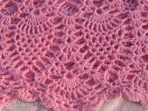 Это мое превое вязаное платьице, с него я начала вязать крючком. фото 4