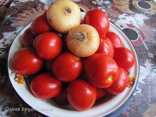 """Рецепт этого кетчупа мне достался от моей родственницы с Прикарпатья.Рецепт несложный .Главное-никакой химии,""""ешек"""",усилителей,стабилизаторов и загустителей! фото 1"""