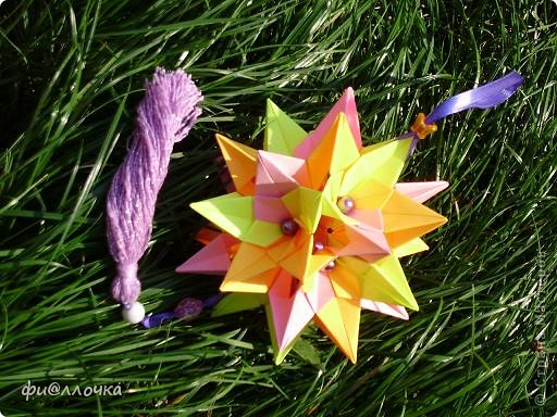 Приветствую всех жителей Страны!!! Не так давно увидела кусудаму из маргариток и решила тоже сделать, но посадить цветочки на электру. Вот что получилось... фото 3