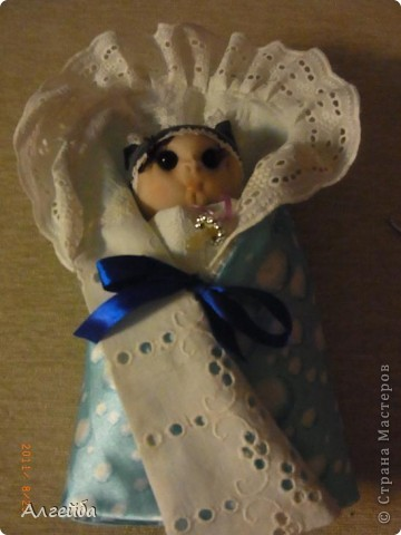 Галчонок-каркасная кукла фото 14
