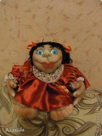 Галчонок-каркасная кукла фото 10