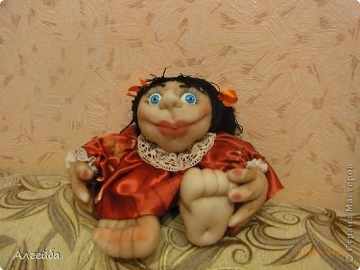Галчонок-каркасная кукла фото 11