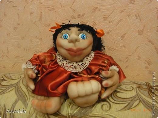 Галчонок-каркасная кукла фото 12