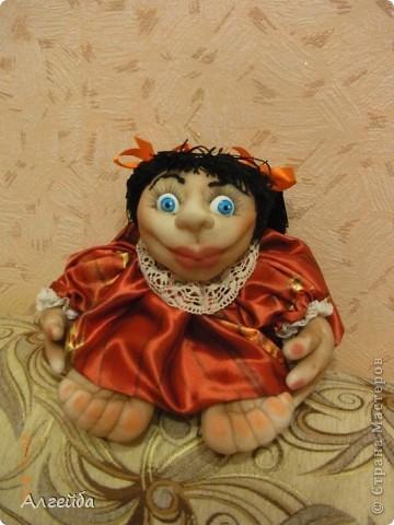Галчонок-каркасная кукла фото 13
