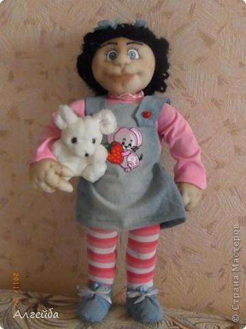 Галчонок-каркасная кукла фото 1