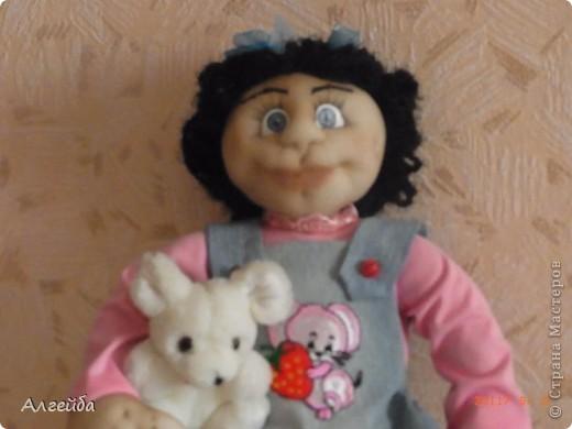 Галчонок-каркасная кукла фото 2