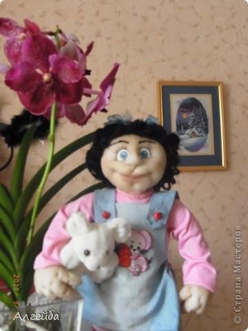 Галчонок-каркасная кукла фото 3