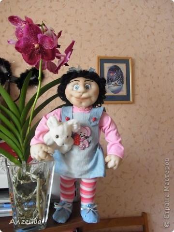 Галчонок-каркасная кукла фото 4