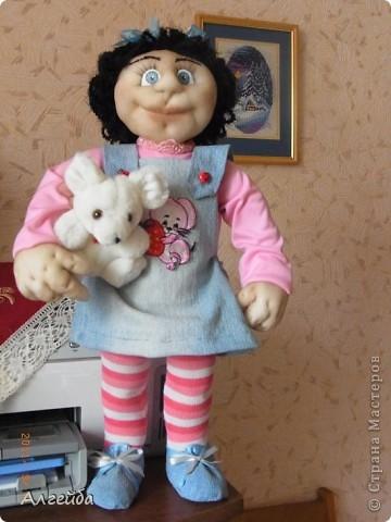 Галчонок-каркасная кукла фото 7