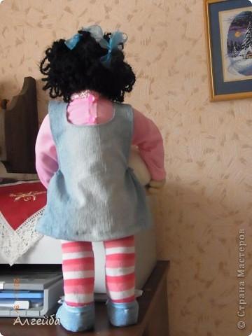 Галчонок-каркасная кукла фото 8