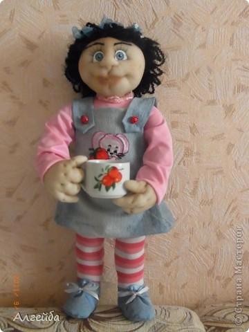 Галчонок-каркасная кукла фото 5