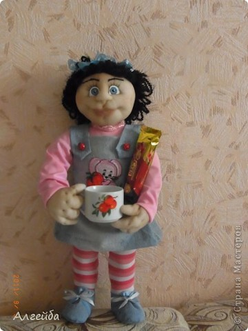 Галчонок-каркасная кукла фото 6